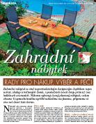 Rady pro nákup zahradního nábytku