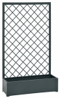 VERDEMAX kovový květinový truhlík s popínací mřížkou 8536