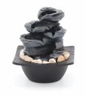 Pokojová fontána kameny